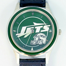 NY Jets NFL 1994 New Official Fossil Collectible Watch Silver Tone XX/10000 $75 - $74.10
