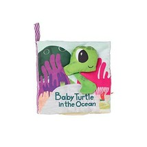 Manhattan Toy What's Outside Sea-Themed Soft Baby Activity Book with Rattle - $16.49