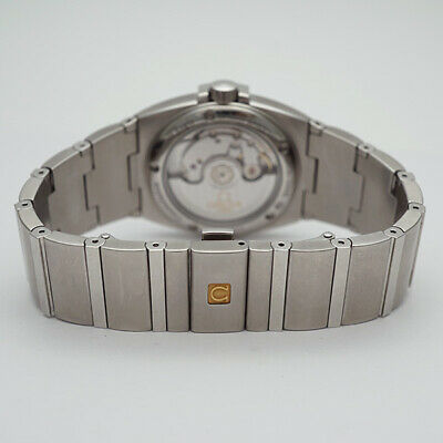 AB small Omega Co-Axial Constellation Double Eagle Mens Watch 150151