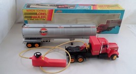 "MIB 1970s Huge 26"" Lido Battery Remote Control Long Hauler Gulf Oil Tank... - $82.81"