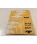 1987 Chevrolet Spectrum Service Manual Supplement Turbo Models ST-371-87... - $14.99