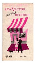 RCA Victor Red Seal Records Music May 1946 Advertising Brochure Record Shop Art - $8.99+