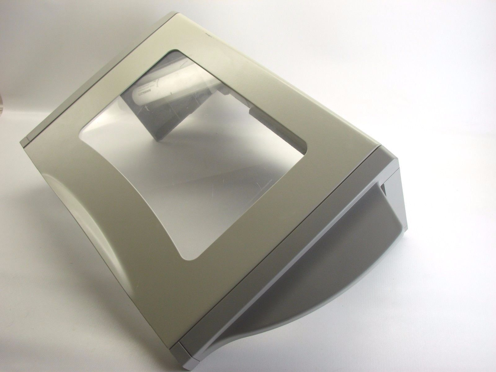 Zebra Z4Mplus Thermal Printer OEM See-Thru Media Door W/ Hinge Screws  (t51)