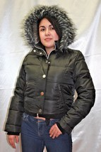 Women's Black | Grey Hoodie Jacket by Baby Phat - $104.30