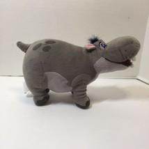 "Disney Jr Lion Guard Beshte 9"" Plush Hippo Gray Stuffed Animal Lion King  - $14.50"