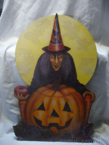 Bethany Lowe Midnight Witch with Pumpkin no. BB9354