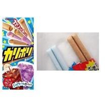 Kabaya KARI-POLI Mystery Cola & Grape Soda Japanese Candy Sticks - $2.45