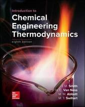 Introduction to Chemical Engineering Thermodynamics [Hardcover] Smith Te... - $184.95