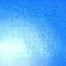 "Pyrex 213-R Cobalt Blue Loaf Pan 1.5qt Baking Dish 8.5""x4.5""x2.5"" image 6"
