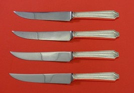 "King Albert by Whiting Sterling Silver Steak Knife Set 4pc HHWS  Custom 8 1/2"" - $247.10"