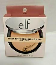 Elf Sheer Tint Finishing Powder Fair / Light - $10.88