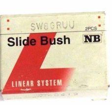 BOX OF 2 NIB NB NIPPON SW8GRUU LINEAR SLIDE BUSHINGS 040419 image 4