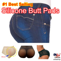 #1 Big Booty Silicone Butt Pads buttock Enhancer Shaper Panties Tummy Control - $27.08