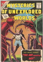 Mysteries of Unexplored Worlds Comic #29 CDC 1962 FINE+ - $19.27