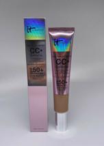 IT Cosmetics CC+ Illumination Color Correcting Anti-Aging Cream TAN 2.53oz - $27.87