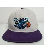 CHARLOTTE HORNETS NBA Basketball Adidas Youth Adjustable Baseball Cap Hat  - $14.99