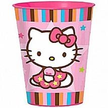 Hello Kitty Balloon Dreams Stadium Keepsake 16oz Plastic Cup Party Supplies 1 Ct - $2.23