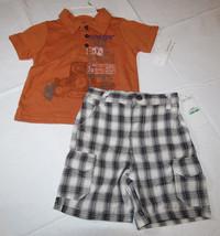 Baby Calvin Klein shorts polo shirt set 18M 18 months NEW boys 3672053 - $22.51