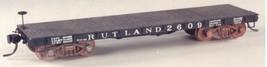 Funaro & Camerlengo HO Rutland 2300/2600 Flatcar,  2 cars per Kit 6491 image 2