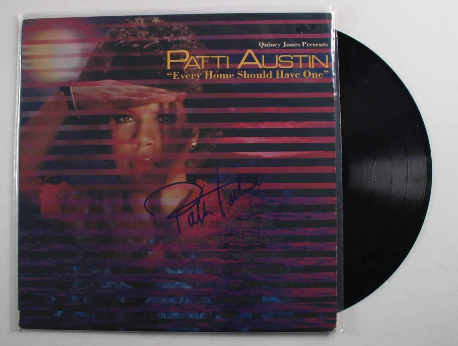 "Primary image for Patti Austin Signed Autographed ""Every Home Should Have One"" Record Album"