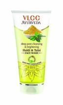 VLCC Ayurveda Deep Pore Cleansing and Brightening Haldi and Tulsi Facewa... - $7.83