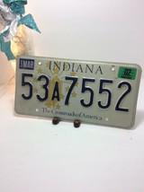 Vintage Indiana License Plate -  - Single Plate 2002 image 2