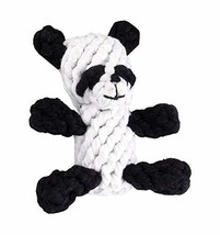 Knot Rope Ball Chew Dog Puppy Toy Pet Chew Toy Cute Panda - £14.58 GBP