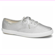 Keds WF58391 Women's Champion Matte Brushed Metallic silver, 8.5 Med - $45.25 CAD