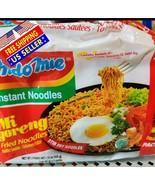 ORIGINAL - Indomie Instant Noodle 100%HALAL Mi Goreng FRIED NOODLES 5 pa... - $10.44