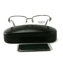 Authentic COACH 5027B 9093 Eyeglasses Dark Silver/Blue 52 21 135 - $69.27