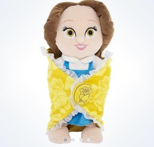 "Disney Parks 10"" Baby Blanket Princess Belle Plush New With Tags - £20.05 GBP"