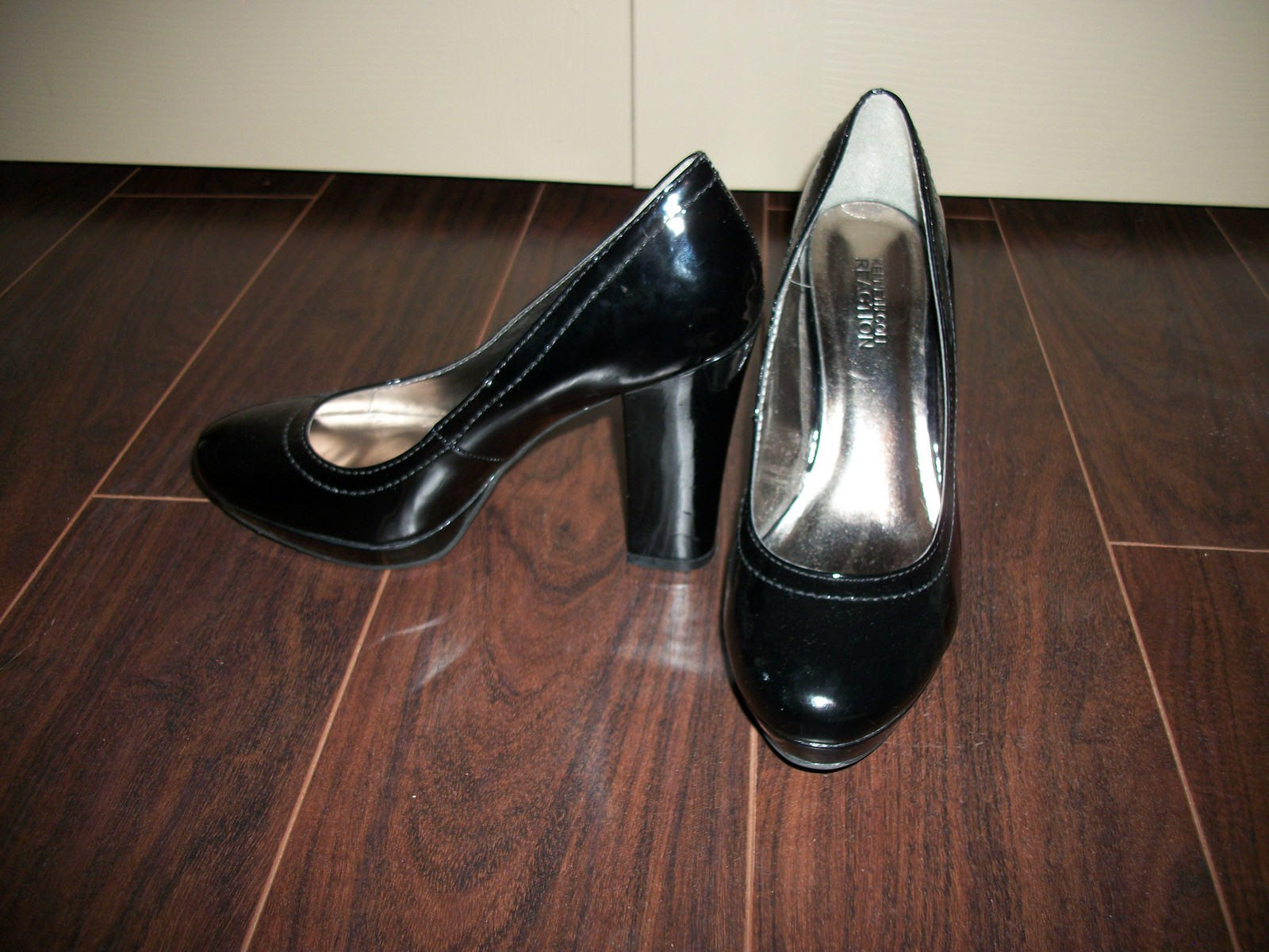 31fafe43460 Womens Kenneth Cole Reaction Shiny Black and 50 similar items