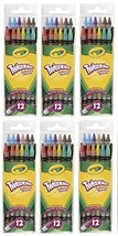 Crayola Twistables Colored Pencils, No Sharpening Needed, 12 Count (Pack... - $23.41