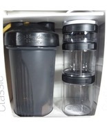 Blender Bottle Go Stack Classic Go Stack Starter 3 Pak Wide Mouth Leak P... - $11.29