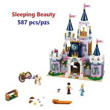 New Girls gift Friends Sleeping Beauty Cinderella's Dream Castle Set Bui... - $53.02