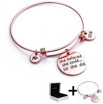 YouMiYa Graduation Gifts Bracelet For Women 2018 Graduation Cap Bracelet... - $35.06