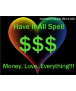Fortuna Have It All Wealth Love Spell Psychic Magick Power Protection Lu... - $99.00