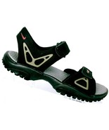 Nike ACG Mens Black Gray All-Trac Hook And Loop Sport Sandals Size 8 - $41.96