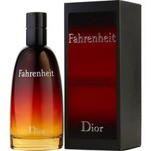 Fahrenheit By Christian Dior Edt Spray 3.4 Oz For Men 100% Authentic - $103.60