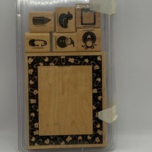 Stampin' Up! Baby Frame Wood Mounted Stamp Set - $7.68