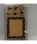 Stampin' Up! Baby Frame Wood Mounted Stamp Set - $7.68