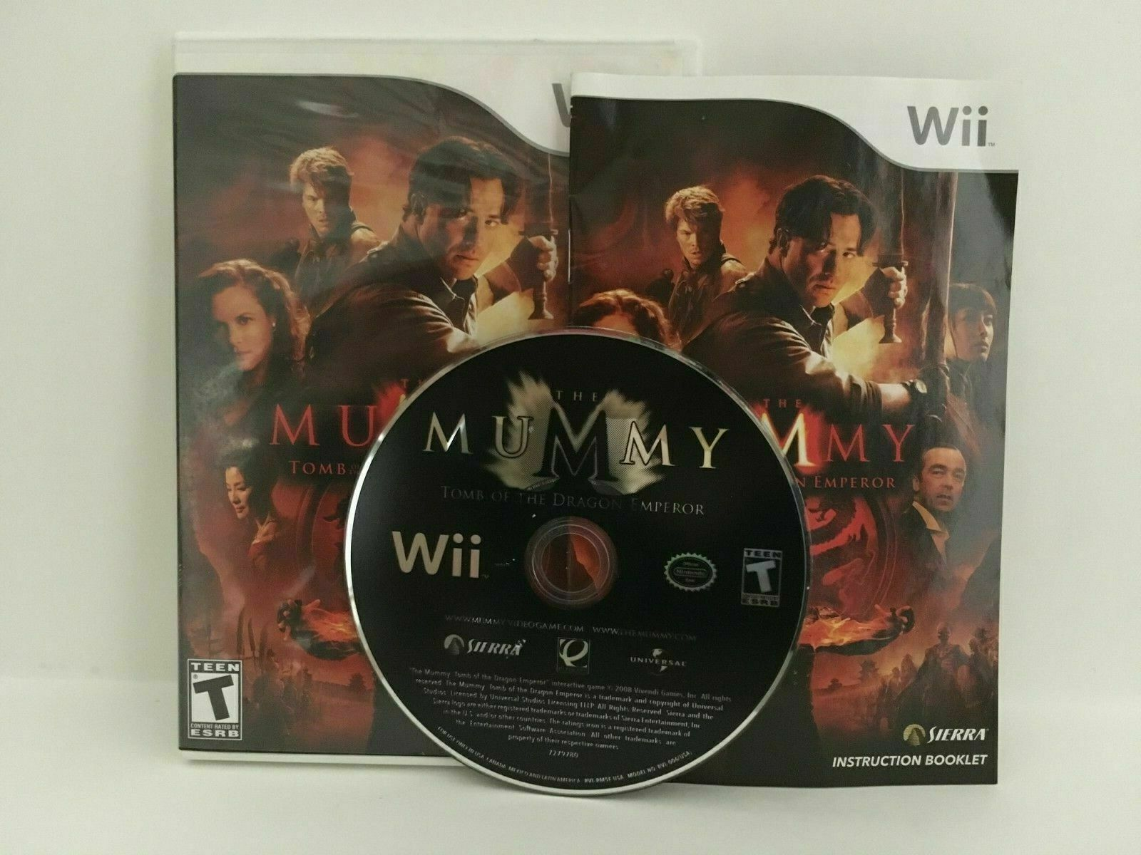Primary image for Mummy: Tomb of the Dragon Emperor (Nintendo Wii, 2008)