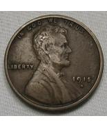 1915-S Lincoln Wheat Cent VF Coin AE457 - $26.03