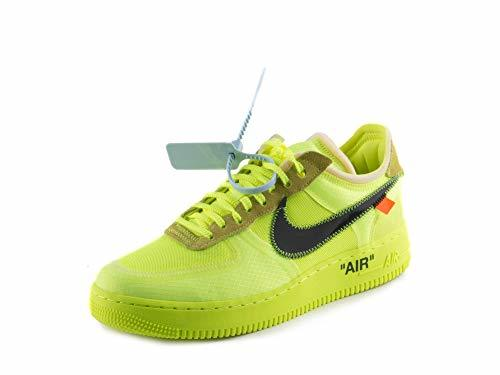 Primary image for Nike Mens The 10 Air Force 1 Low Volt Volt/Black-Cone Nylon Size 8.5