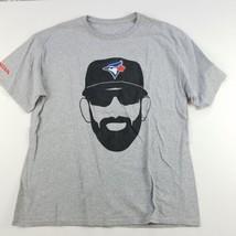 Toronto Blue Jays MLB T-Shirt Mens Crew Neck Honda Short Sleeve - $11.68