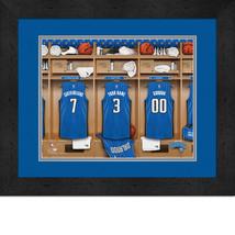 Personalized Orlando Magic 12 x 16 Locker Room Framed Print - $63.95