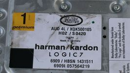 Land Range Rover Sport L320 L322 LR3 LR4 Harman/Kardon LOGIC7 AMP XQK500105 image 6