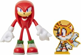 NEW Sonic the Hedgehog  Knuckles Bendable ACTION FIGURE Jakks Pacific tails - $39.99