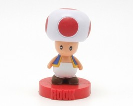Nintendo Super Mario Bros Toad Rook Chess Replacement Piece Cake Topper - $9.99