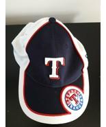 Texas Rangers Hat Cap Baseball Kids Size One Size Adjustable New Era 100... - $10.51